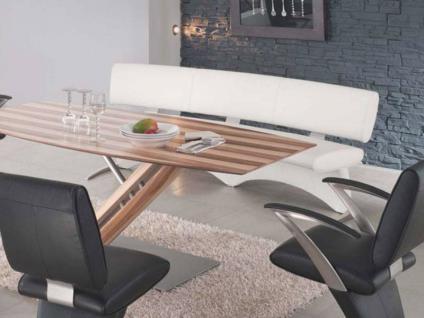 K+W Möbel Boom / 7952 Segmentbank Sitzbank Für Esszimmer Bank Silaxx  Solobank Bezug Stoff
