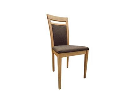 DKK Klose Polsterstuhl S27 in wählbaren Holzfarbtönen für Esszimmer oder Küche Polsterung im Sitz und Rücken in wählbaren Stoff- und Lederbezügen