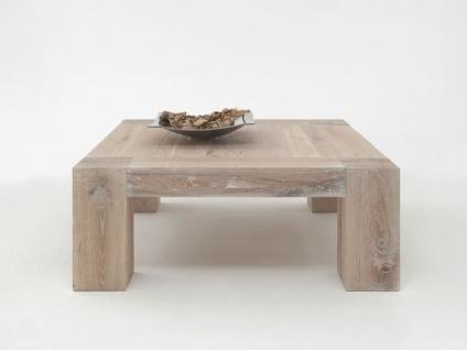 Bodahl Mobler Boston Couchtisch 10059 rustic oak Massivholz quadratisch in sieben Ausführungen wählbar Tisch für Wohnzimmer