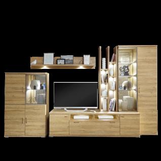 IDEAL-Möbel Wohnwand Lara Kombination 101 moderne 5-tlg. Wohnkombination für Ihr Wohnzimmer