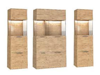 Dkk Klose Kollektion K20 Kastenmöbel Vitrine Schrank geölt oder mit Wachseffektlack Beimöbel für Wohnzimmer oder Esszimmer mit Glastüren Größe Ausführung und Zubehör wählbar