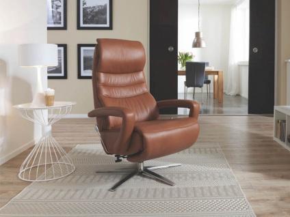 Hukla Sessel CA54 Variante C mit manueller Verstellung in vielen angesagten Stoff- und Echtlederbezügen wählbar