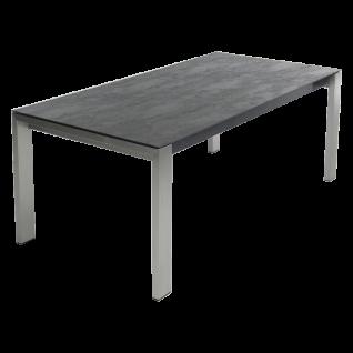Bert Plantagie Opi Keramik Esstisch mit Auszugsfunktion Tischplatten sowie Gestellausführung und Größe wählbar inklusive Lieferung und Montage