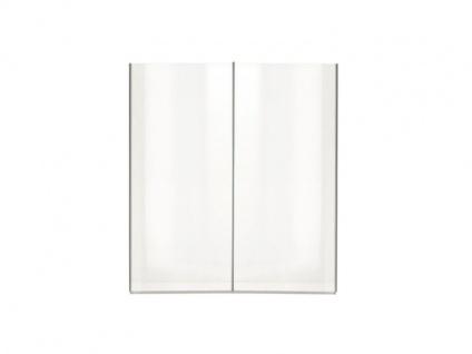 Nolte Samia Schwebetürenschrank Kleiderschrank Front komplett mit Glasausflage Korpus in Dekor wählbar