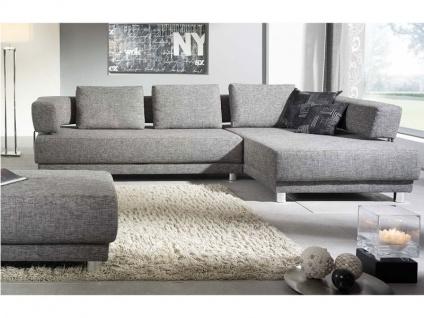 K+W Joy 7442 Sofa Wohnlandschaft Garnitur KW Möbel Eckcouch Couch Kunstleder oder Stoff wählbar