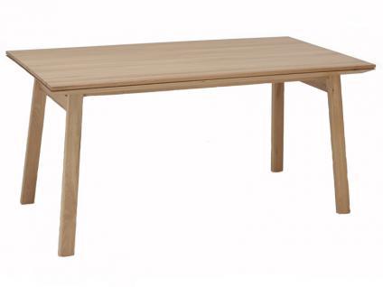 Niehoff Design Esstisch 1893 Scandi aus Massivholz Tisch mit fester Platte oder mit Auszugfunktion für Esszimmer passen zum Designstuhl 3751 Ausführung wählbar