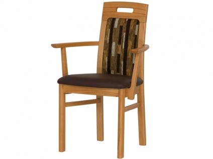 DKK Klose Sessel 30405 mit Griff für Wohnzimmer und Esszimmer Bezug in vielen Stoffen und Echtleder, Sitzkomfort wählbar