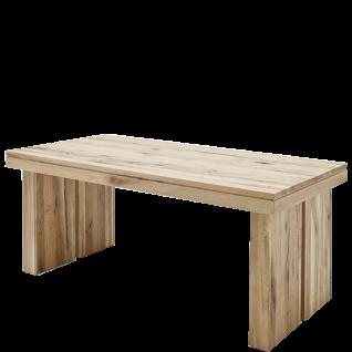 MCA Furniture Tisch Dublin 180 in Eiche Massivholz lackiert und wählbarer Ausführung ideal für Ihr Wohnzimmer oder Esszimmer
