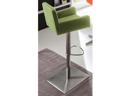 MWA Aktuell Barhockersystem London Barhocker in vielen Ausführungen Barstuhl für Ihr Esszimmer Küche oder Partyraum in Kunstleder oder Stoff Gestell und Sitzschale wählbar