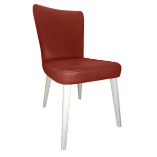 DKK Klose S57 Stuhl 571102 Sitz und Rückenlehne gepolstert Polsterstuhl für Esszimmer und Küche Gestell in Buche Massivholz Bezug wählbar