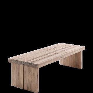 MCA Furniture Tisch Dublin 260 in Eiche Massivholz lackiert und wählbarer Ausführung ideal für Ihr Wohnzimmer oder Esszimmer