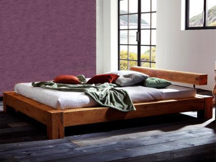 Hasena Bett Oak-Wild Bormio Bett Liegefläche ca. 180x200 cm bestehend aus Bettrahmen Bormio Kopfteil Balco und Füße Cobo in Wildeiche natur gebürstet geölt - Vorschau 2