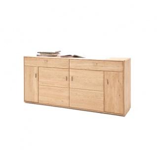 sideboard tarragona tar11t02 von mca furniture sideboard fur wohnzimmer speisezimmer esszimmer front eiche bianco massivholz durchgehende