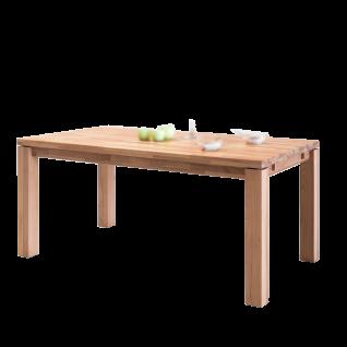 Elfo-Möbel Esstisch in verschiedenen Größen Speisezimmertisch in Kernbuche Massivholz geölt keilgezinkt Ansteckplatte wählbar für Speisezimmer