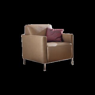 Willi Schillig Sessel Ben 20999 in einem stilvollen Design in einer Vielzahl an exklusiven Bezügen in elegantem Stoff oder hochwertigem Leder mit vielen verschiedenen wählbaren Fußausführungen