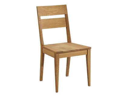 Schösswender Oviedo Holzstuhl Filippa-M mit Sitz und Lehne aus Massivholz in Wildeiche geölt Stuhl für Ihr Esszimmer