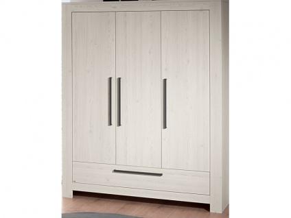 Paidi Laslo Kleiderschrank 3T1S mit 3 Türen und 1 Schubkasten in Nordic-Wood-Nachbildung - Vorschau 2