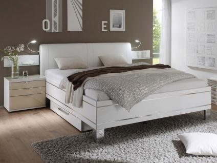 Staud Sinfonie Plus Bett Luxushöhe mit Fußteil 3 inkl. Kopfteil Modern Liegefläche wählbar