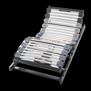 Hasena Lattenrost Pronto Ultrafree Tec Motor und Funkfernbedienung LED-Beleuchtung 30 Buchenschichtholz-Federleisten Höhe ca 11 cm Liegefläche wählbar