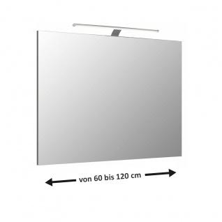 Pelipal 6110 Flächenspiegel in vielen Größen mit Aufsatzleuchte für Ihr Badezimmer Spiegelgröße wählbar
