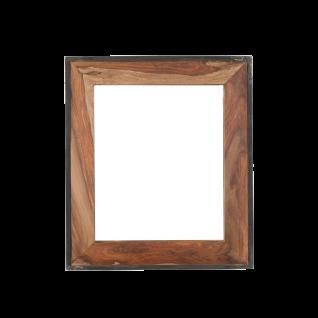 Sit Möbel PANAMA Spiegel natur mit antikschwarz aus Shesham Holz