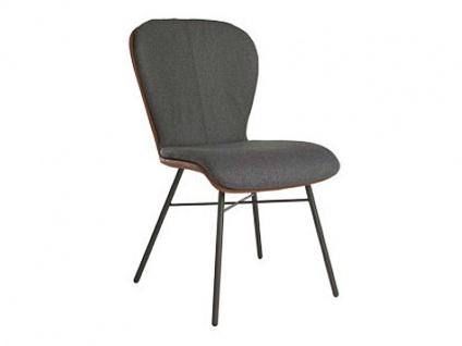 Stuhl 612C Blake Four Komfort von Bert Plantagie mit Bi-Color-Mattenpolsterung für Esszimmer Esszimmerstuhl Gestellausführung und Bezug in Leder oder Stoff wählbar