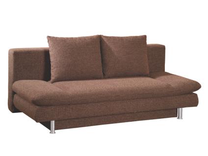 Restyl Andora Schlafsofa Serenade ausziehbar ca. 142 x 195 cm 2-Sitzer in modischen Stoff- und Echtlederbezügen erhältlich mit Armteilverstellung und Bettkasten