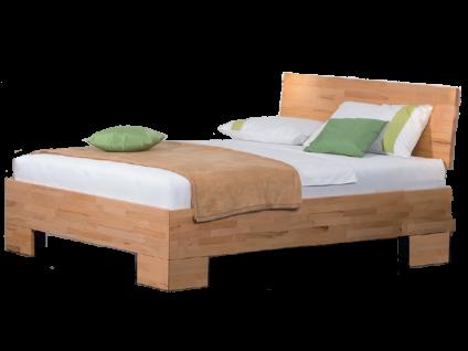 Neue Modular Primolar Bett Misano mit Kopfteil Perledo und Füße Misano Liegefläche 180x200 cm
