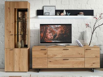 wohnwand regal massivholz g nstig kaufen bei yatego. Black Bedroom Furniture Sets. Home Design Ideas