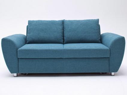 Steinpol PoCo Allround Schlafsofa Multiflexx Plus Sofa in Leder oder Stoff Ausführung sowie Größe wählbar ideal für Ferienwohnung