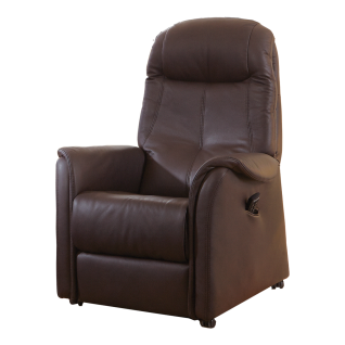Hukla Relaxsessel AP06 XXL Plus bietet ca. 6 cm mehr Sitzbreite mit individueller Verstellung der Fußstütze, Rückenlehne sowie mit bequemer Aufstehhilfe