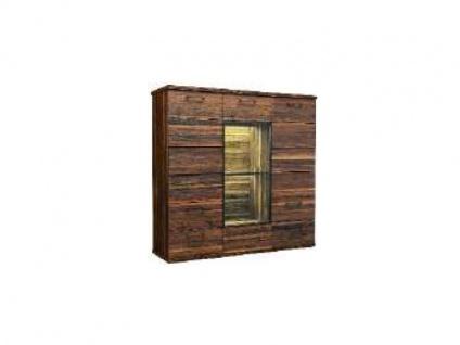 Dkk Klose Kollektion K24 Kastenmöbel Highboard 3tlg. Kommode für Wohnzimmer oder Esszimmer Ausführung und Beleuchtung wählbar