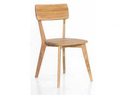 Standard Furniture Stuhl NOCI 3 Massivholzstuhl Nora mit Rückenlehne für Esszimmer oder Küche in drei Holzausführungen