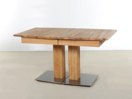 Standard furniture Kulissentisch Alteo XL Säulentisch mit bootsförmiger Tischplatte Tisch für Esszimmer Speisezimmertisch in Ausführung und Größe wählbar