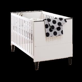 Paidi Eliana Kinderbett ca. 70x140 cm mit 4-fach höhenverstellbarem Airwell Comfort Lattenrost