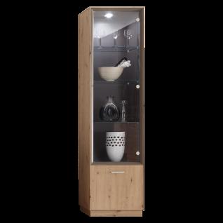 Mäusbacher Frame Standvitrine SV_1-1GL für Ihr Wohnzimmer oder Esszimmer Standvitrine mit zwei Türen Ausführung wählbar