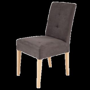 Standard Furniture Polsterstuhl Agra 2 ohne Griff mit Sitzgurten Gestell aus Massivholz Bezug sowie Holzausführung wählbar