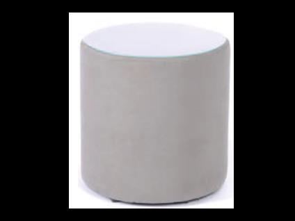 Oschmann Belcanto Beimöbel Konsole Tonne Nr. 38 einfarbig für Ihr Schlafzimmer mit Stoff bezogen Stoffgruppe wählbar