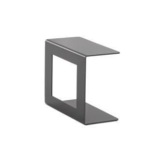 Niehoff Garden Valencia Loungetisch G800-100-000 Gestell und Tischplatte aus Aluminium anthrazit Beistelltisch ca. 25 x 54 cm für Ihren Garten