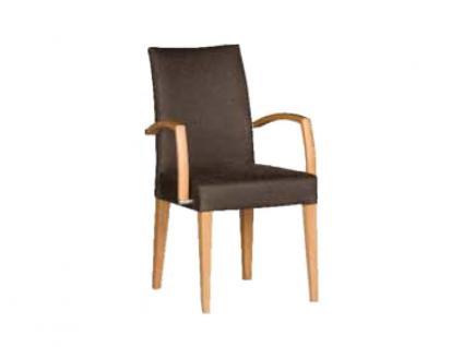 Dkk Klose Sessel S41 Marshmallow Polstersessel mit Armlehnen 951 für Wohnzimmer oder Esszimmer in vier Polstervarianten Gestell aus Massivholz in verschiedenen Holzausführungen Bezug Leder oder Stoff in großer Auswahl erhältlich