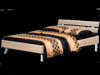 Neue Modular Primolar Livorno plus Bett bestehend aus Bettrahmen mit Kopfteil Vito und Rundfüße Liegefläche ca. 180x200 cm