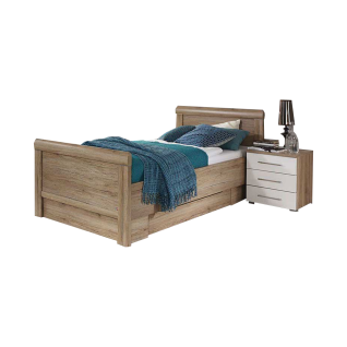 bett mit schubkasten online bestellen bei yatego. Black Bedroom Furniture Sets. Home Design Ideas
