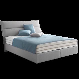 Oschmann Belcanto Fjord Boxspringbett im skandinavischen Stil Nordix inkl. Kopfteil KT 0679 weitere Komponenten wie Bettfüße und Matratze wählbar große Stoffauswahl