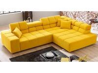 Candy Ecksofa Oregon 2.0 Style Up 308 Sofagarnitur 2-Sitzer Umbauecke groß Couch spiegelverkehrt lieferbar in Echtleder oder Stoffbezug wählbar
