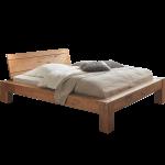 Hasena Bett Oak-Wild Bormio Bett Liegefläche ca. 180x200 cm bestehend aus Bettrahmen Bormia Kopfteil Areba und Füße Cobo in Wildeiche natur gebürstet geölt