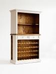 MCA Buffet mit Weineinsatz Bodde FH302014 Ausführung recycle Kiefer weiß/ honigfarbig für Wohnzimmer Speisezimmer Furniture