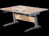 Paidi Schoolworld Falko Schreibtisch in Ahorn-Nachbildung optional mit Anbau 125 für hinten