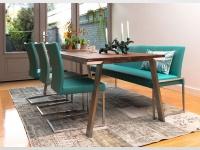 Bert Plantagie Seven Esstisch Vierfuß Tisch für Esszimmer Tischplattenausführung Gestellausführung und Größe wählbar