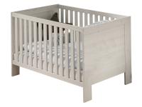 Paidi Laslo Kinderbett Liegefläche ca. 70x140 cm mit 2 Schlupfsprossen in Nordic-Wood-Nachbildung
