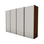 Nolte Möbel Columbus Schwebetüren-Panoramaschrank mit Soft-Abstoppung Farb- und Griffausführung wählbar